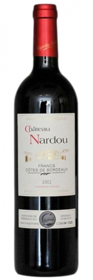 Chateau Nardou Francs Cotes de Bordeaux, 2002 фото