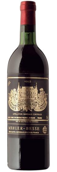 Chateau Palmer Margaux 3-me Grand Cru Classe, 1982 фото