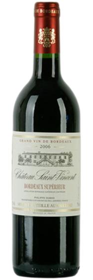 Вино Chateau Saint-Vincent Bordeaux Superieur, 2010