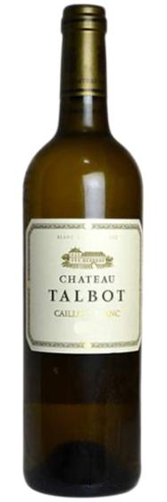 2012 Chateau Talbot Caillou Blanc du Chateau Talbot Bordeaux фото
