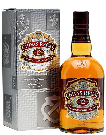 Виски Chivas Regal 12 Years Old 1.0