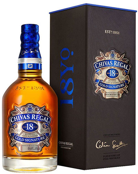 Виски Chivas Regal 18 Years Old 1.0 фото
