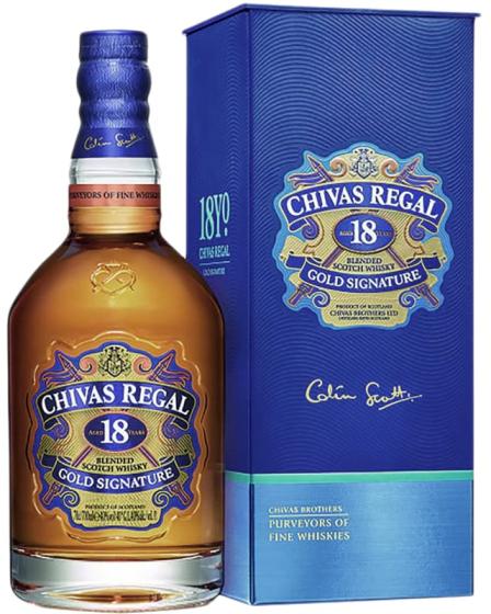 Chivas Regal Gold Signatire фото