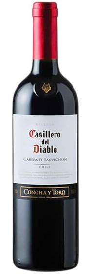 Вино Concha Y Toro Сasillero Del Diablo Cabernet Sauvignon, 2012