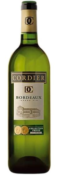 Вино Cordier Bordeaux Blanc, 2007