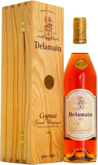 Delamain Vintage Grande Champagne, 1973 фото
