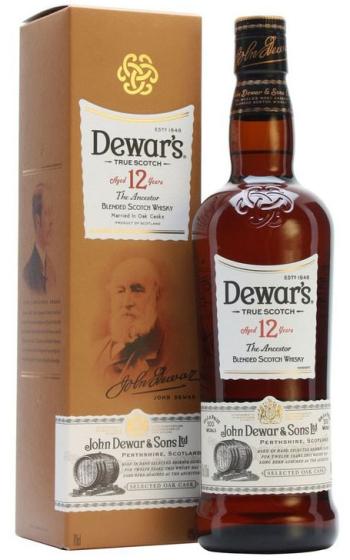 Dewar's 12 Years Old 1 liter фото