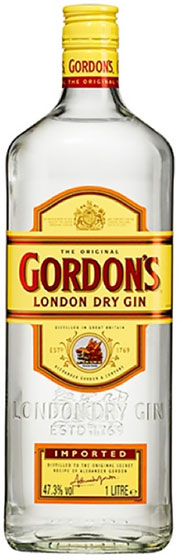 Gordon's London Dry Gin Export фото