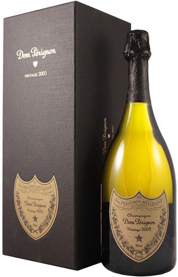 Шампанское Dom Perignon Vintage, 2003 фото