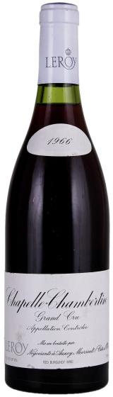 Вино Domaine Leroy Chapelle Chambertin