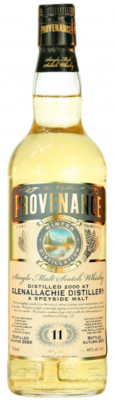 Douglas Laing Provenance Glenallachie 11 Year Old фото
