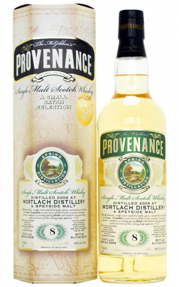 Douglas Laing Provenance Mortlach 8 Year Old фото
