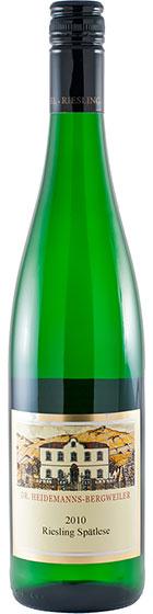 Вино Dr. Heidemanns-Bergweiler Riesling Spatlese, 2010