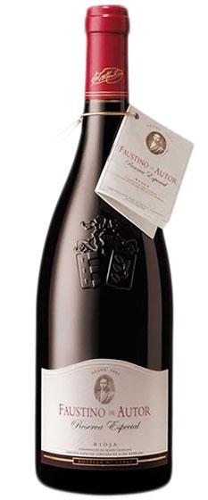Вино Faustino de Autor Reserva Especial, 1998