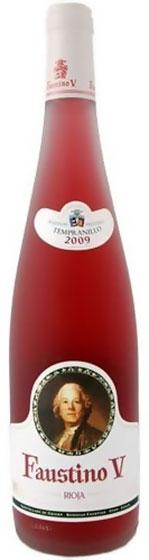 Вино Faustino V Rosado Rioja, 2004