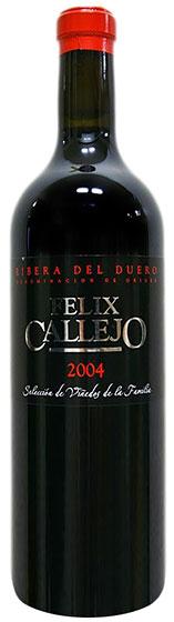 2004 Felix Callejo Seleccion Vinedos de la Familia фото