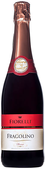 Игристое вино Fiorelli Fragolino Rosso