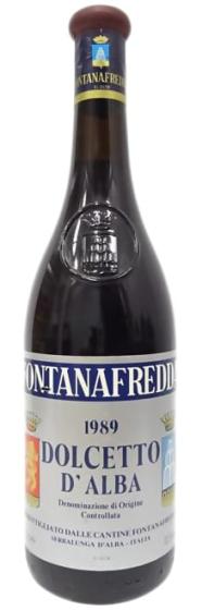 1989 Fontanafredda Dolcetto D'Alba DOC фото