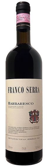 Вино Franco Serra Barbaresco DOCG, 2009