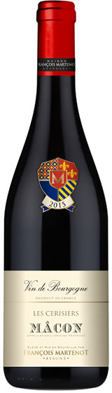 Вино Francois Martenot Macon Les Cerisiers, 2015