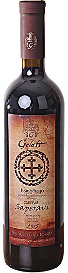 Вино Gelati Saperavi, 2015