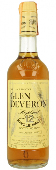 Glen Deveron Single malt 12 Years Old фото