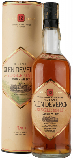 Glen Deveron Single Malt, 1980 фото