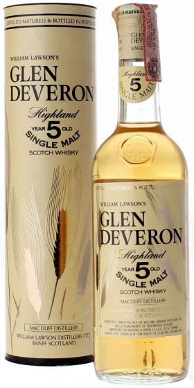 Glen Deveron Single Malt 5 Years Old фото
