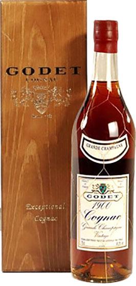 1989 Godet Vintage Grande Champagne фото