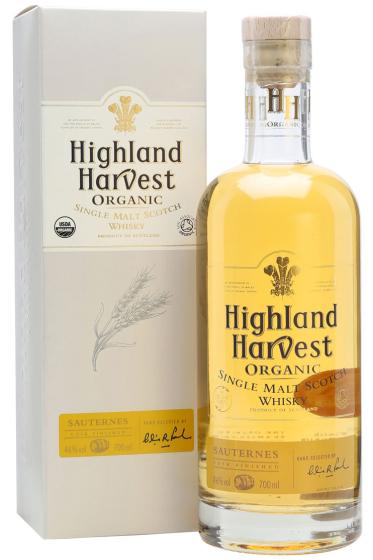 Highland Harvest Organic Sauternes Single Malt фото