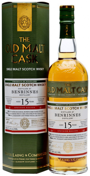 1999 Hunter Laing Old Malt Cask Benrinnes 15 Years Old фото