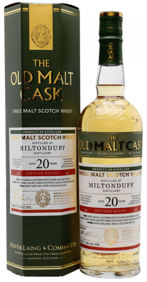 1995 Hunter Laing Old Malt Cask Miltonduffl 20 Years Old фото