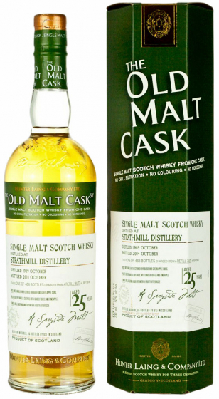 Виски Hunter Laing Old Malt Cask Strathmill 25 Years Old