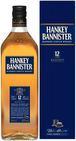 Hankey Bannister 12 Year Old Regency фото