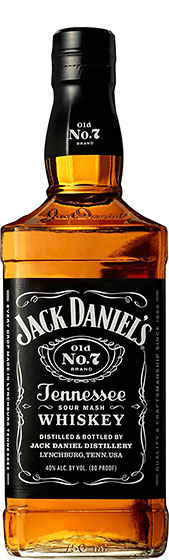 Jack Daniels Tennessee Whiskey Old №7 фото