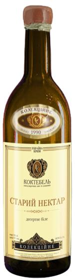 Десертное вино Коктебель Старый Нектар