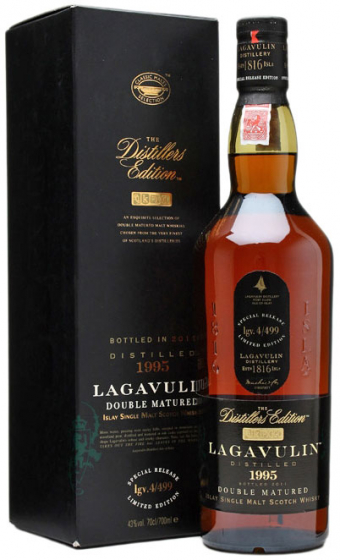 1995 Lagavulin The Distillers Edition Double Matured фото