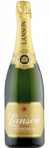 Шампанское Lanson Gold Label