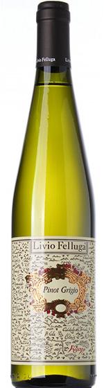Вино Livio Felluga Pinot Grigio, 2014
