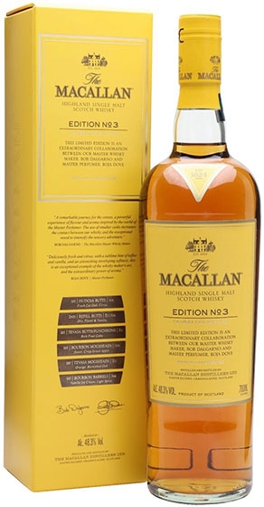 Виски Macallan Edition No. 3