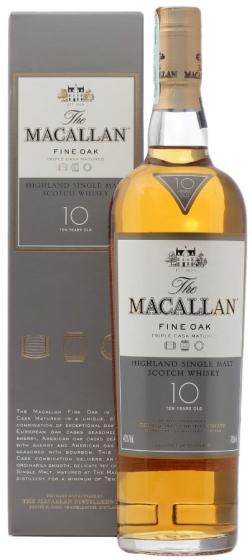 Macallan Fine Oak 10 Years Old фото