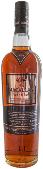 Macallan Oscuro 1824 Collection, Release 2010 фото