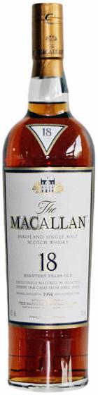 1994 Macallan Sherry Oak 18 Years Old фото