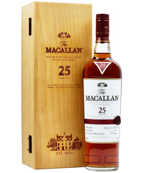 Macallan Sherry Oak 25 Years Old фото