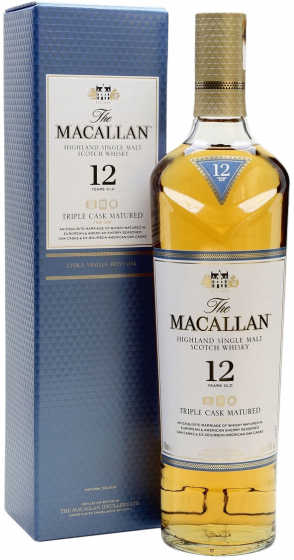 Виски Macallan Triple Cask Matured 12 Years Old