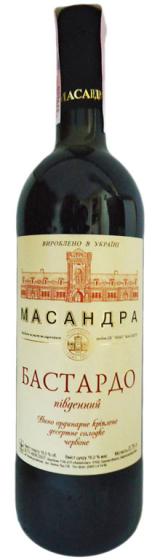 Десертное вино Массандра Бастардо Южный
