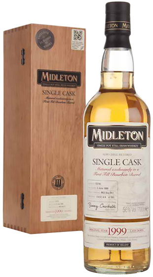 Midleton Single Cask Single Pot Still Irish Whiskey 13 Years Old, 1999 фото