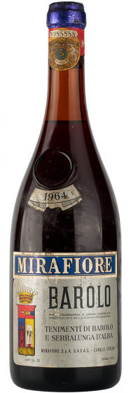 Mirafiore Barolo, 1964 фото