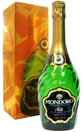 Игристое вино Mondoro Asti
