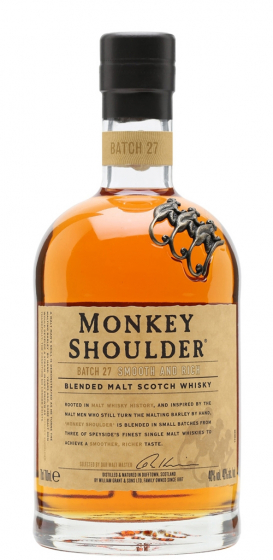 William Grant and Sons Monkey Shoulder фото
